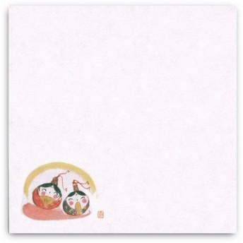 """""""ネコポス可能"""" 耐油天紙四季4寸 TA-75ひな祭り(3月) 100枚"""