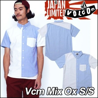volcom Japan Limited ボルコム シャツ メンズ Vcm Mix Ox S/S 半そで /【返品種別OUTLET】
