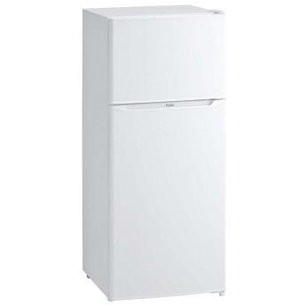 ハイアール 2ドア冷凍冷蔵庫 JR-N130A(W) 【ECJ】冷温機器
