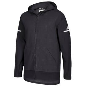 アディダス adidas メンズ ジャケット アウター team squad jacket Black/White