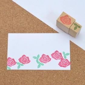 お花はんこ-薔薇 バラのはんこ
