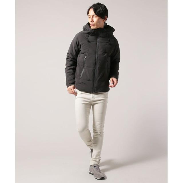 ジャケット・ブルゾン - SPUTNICKS メンズ アウター メンズファッション 冬 防風 ストレッチ ファブリック 止水 ジップ 中綿 ボリュームネック ブルゾン ZIPSPU スプ
