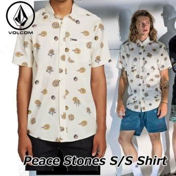 volcom ボルコム シャツ Peace Stones S/S メンズ 半袖 シャツ A0421908
