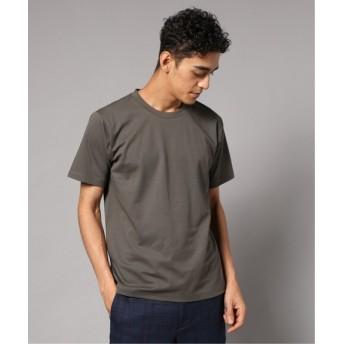 EDIFICE FUNCTIONAL COTTON クルーネック Tシャツ カーキ L