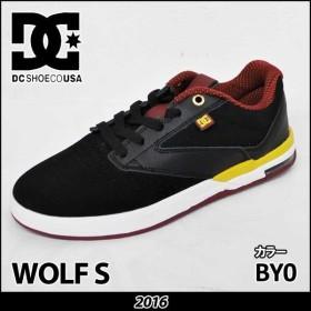 DC スニーカー ディーシー WOLF S ウルフ  Black/Yellow  BY0 スケートシューズ スケシュー セール 【返品種別OUTLET】