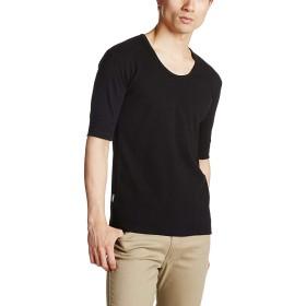 アビレックス AVIREX Tシャツ Uネック ハーフスリーブTシャツ 6143508 6193142 09-Black M