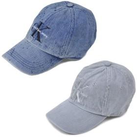 【CALVIN KLEIN】カルバンクライン 帽子 キャップ デニム CALVIN KLEIN DENIM LOGO CAP