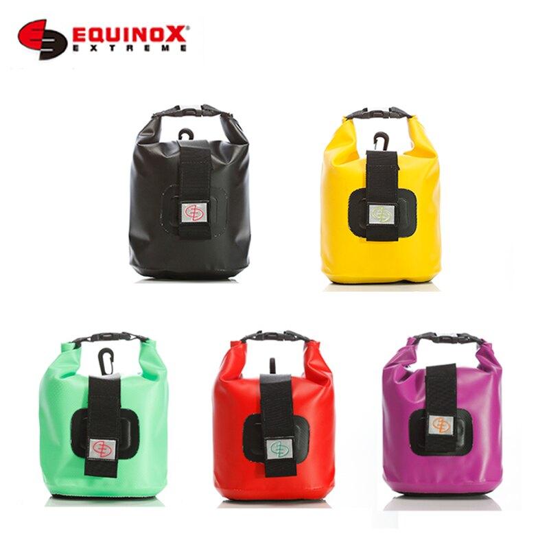 【露營趣】EQUINOX 111133 防水輕便腰包(5色) 防水腰包 腰包 防水包 防水袋 獨木舟 溯溪 海釣 游泳 衝浪