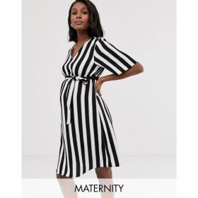 ママリシャス Mama.licious レディース ワンピース ワンピース・ドレス Mamalicious stripe shift dress Stripe