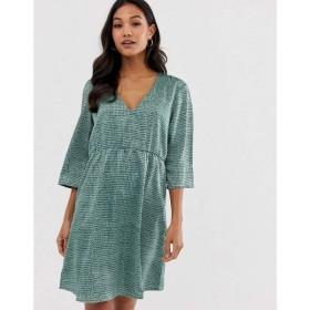 ヴィラ Vila レディース ワンピース ワンピース・ドレス textured smock dress