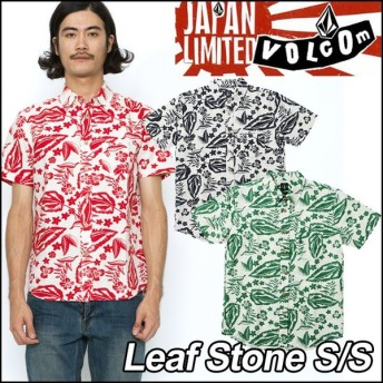volcom Japan Limited ボルコム シャツ メンズ Leaf Stone S/S 半そで /【返品種別OUTLET】