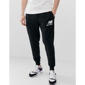 ニューバランス New Balance メンズ ジョガーパンツ ボトムス・パンツ slim joggers in black Black