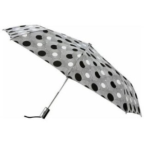 レイトンアンブレラズ Leighton Umbrellas ユニセックス 傘 Manhattan Automatic Umbrella geometric circles