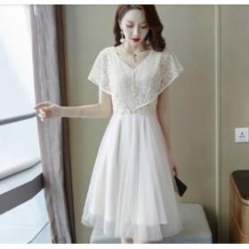 パーティードレス 結婚式 二次会 ワンピースドレス 謝恩会 同窓会 成人式 お呼ばれドレス 韓国 オルチャン ワンピース チュールワンピー