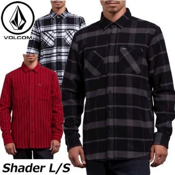 volcom ボルコム シャツ Shader L/S メンズ 長袖 A0531808 【返品種別OUTLET】