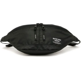 ギャレリア master piece マスターピース RUSH ウエストバッグ 02220 ユニセックス ブラック F 【GALLERIA】