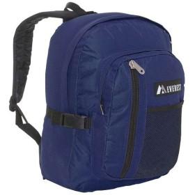 エベレスト デザインズ Everest レディース バックパック・リュック バッグ Backpack with Front Mesh Pocket Navy/Black