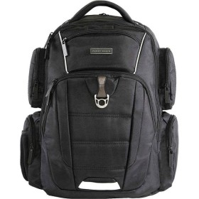 ペリー エリス Perry Ellis レディース パソコンバッグ バッグ M350 Executive Collection Business Laptop Backpack Black