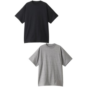N.HOOLYWOOD N.ハリウッド メンズ(MENS)コットンTシャツ ブラック/トップグレー