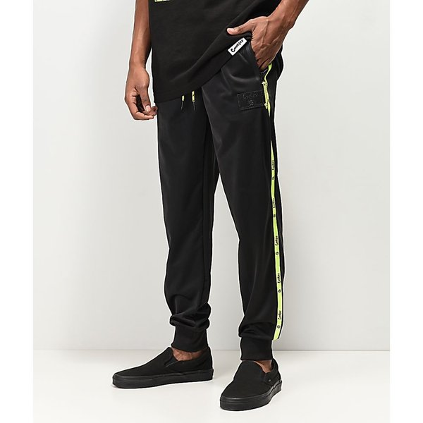 Welcome Talisman Track Mens Pants Jogging Black White All Sizes