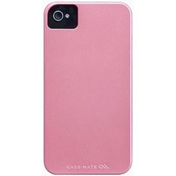 iPhone 4S/iPhone 4 共通 Barely/Case/Pearl/Pink スマートフォンケース スマホケース [▲][G]