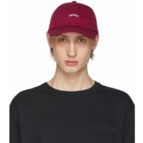 ノア Noah NYC メンズ キャップ 帽子 Burgundy Core Logo Cap