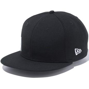 [ニューエラ] 950 スナップバック キャップ エッセンシャル サイドビッグロゴ 11899177 ブラック スノーホワイト
