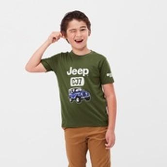KIDS ザ・ブランズ アウトドア UT ジープ(グラフィックTシャツ・半袖)