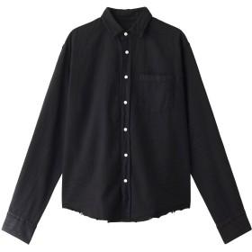 Frank&Eileen フランク&アイリーン メンズ(MENS)LUKE イタリアンインディゴデニムシャツ ブラック