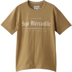 Scye/SCYE BASICS サイ/サイベーシックス 【UNISEX】【Scye Mercantile】ロゴTシャツ カーキベージュ