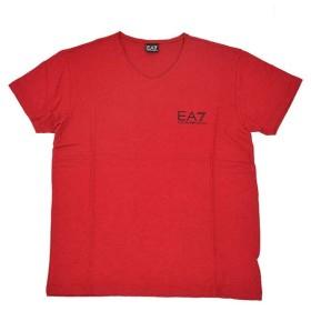 EMPORIO ARMANI EA7 エンポリオ アルマーニ  ロゴレッド半袖Tシャツ 903001 5A752 イタリア正規品 セール 新品