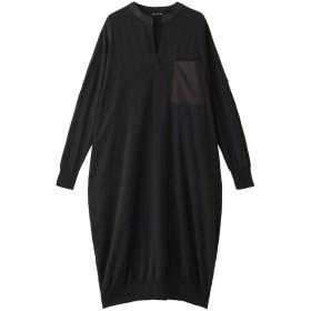 SALE 【30%OFF】 mizuiro ind ミズイロインド HGワイドワンピース ブラック