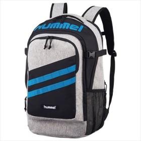 [hummel]ヒュンメル 拡張型・保冷保温バックパック (HFB6127)(0168) ヘザーグレー×ターコイズ[取寄商品]