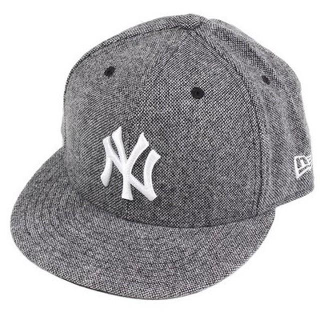 ニューエラ(NEW ERA) 59FIFTY ツィード ニューヨークヤンキース キャップ 11781637 (Men's)
