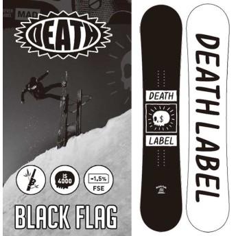 18-19 DEATH LABEL デスレーベル スノーボード 板 BLACK FLAG ブラックフラッグ snow board