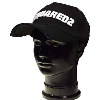 DSQUARED2 ディースクエアード メンズキャップ BCM0222 05C00001 ブラック