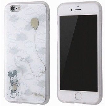 iPhone 6S/iPhone 6 共通 ディズニー/TPU/メタルドローイング/ミッキー スマートフォンケース スマホケース [▲][G]