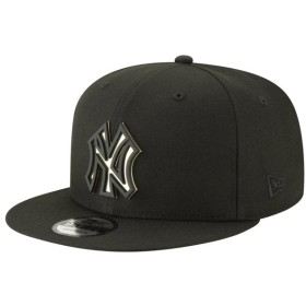 ニューエラ New Era メンズ キャップ 帽子 mlb 9fifty metal stack snapback cap MLB New York Yankees Black/Gold