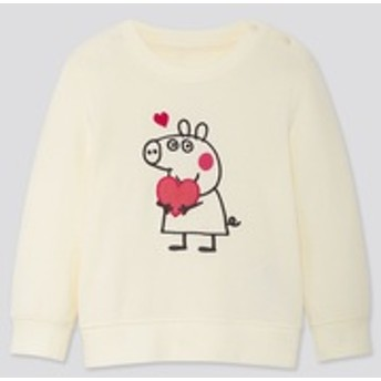 BABY ペッパピッグスウェットシャツ(長袖)