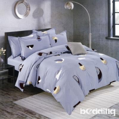 BEDDING-活性印染6尺雙人加大薄床包三件組-春季幻想