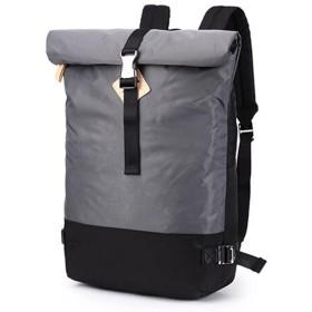 「KANI×KANI」リュック メンズ レディース 軽量 バックパック 大容量 アウトドア デイパック 学生 通勤 登山backpack08 (グレー)