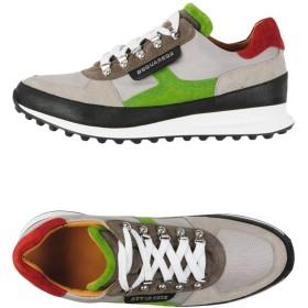 《期間限定セール開催中!》DSQUARED2 メンズ スニーカー&テニスシューズ(ローカット) グレー 40 革 / 紡績繊維