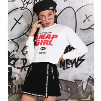 [マルイ]【セール】ロゴショート丈ロンT/アナップキッズ&ガール(ANAP KIDS&GIRL)