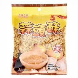 耆盛-蒜頭酥150g (蒜酥)