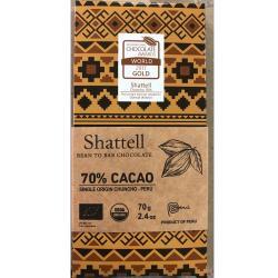 秘魯原裝Shattell世界冠軍有機精品巧克力