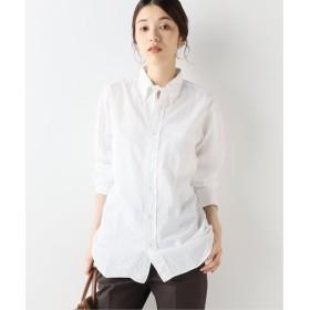 FRAMeWORK INDIVIDUALIZED SHIRTS 別注ボタンダウンシャツ ホワイト フリー
