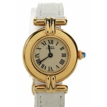 カルティエ 腕時計 マストコリゼ ヴェルメイユ クォーツ 590002 レディース Cartier 中古