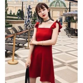 リゾートワンピ-ス リゾート ワンピース ハワイ オルチャン ファッション 夏服 レディース 韓国 風 レディース ファッション 大人可愛い