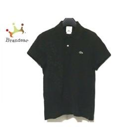 ラコステ Lacoste 半袖ポロシャツ サイズ2 M メンズ 黒 新着 20190825