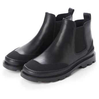 カンペール CAMPER BRUTUS / ブーツ サイドゴア フラットヒール (ブラック)